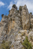 Mountain in Kyrenia city , Cyprus. Stock Images