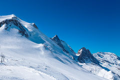 Mountain La Grande-Motte. Stock Photo