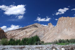 The mountain in Ladahk Stock Image