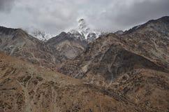 Mountain in Ladakh. Landscape by the roadside in ladakh Stock Image