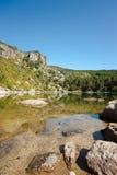 Mountain lagoon Stock Photo