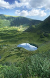 Mountain lake. Picturesque mountain lake with crystal clear water Royalty Free Stock Photo