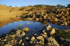 Mountain Lake. Beautiful lake in beyagac - turkey royalty free stock images