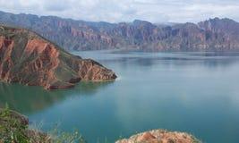 Mountain and lake Stock Image