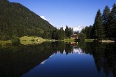 Mountain lake. Little sweet lake in high mountain Royalty Free Stock Photography