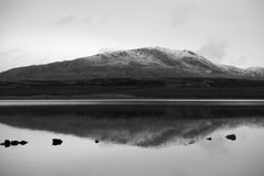 Mountain and lake Royalty Free Stock Photo