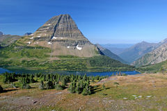 Mountain Lake. Hidden Lake Trail, Logan Pass, Glacier National Park, Montana, United States Royalty Free Stock Photography
