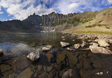 Mountain lake. Nature Reserve in the Peninsula Kony Stock Photography