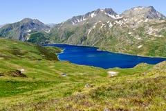 Mountain lake. In Pyrenees at summer Royalty Free Stock Image