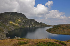 Mountain lake. Lake the kidney - one of the severn Rila lakes Note to editor stock images