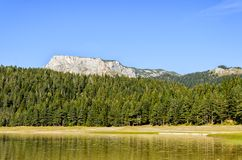 Mountain lake Stock Photography