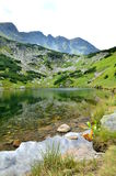 Mountain lake. In Western Tatras in Slovakia Royalty Free Stock Photography