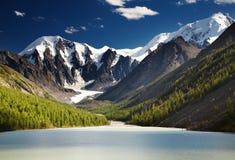 Mountain lake Royalty Free Stock Photography