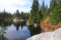 Mountain_lake Stock Image