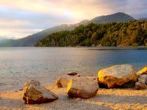 Mountain lake Royalty Free Stock Photos