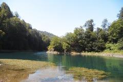 Mountain Lake Fotografie Stock