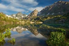 Mountain Lake Stock Afbeeldingen