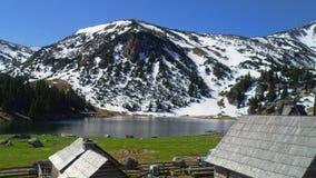 Mountain Lake Foto de archivo