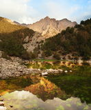 Mountain lake Royalty Free Stock Photo