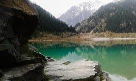 Mountain Lake Immagine Stock Libera da Diritti