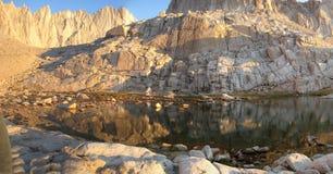Mountain Lake. In the sierra nevadas near mount whitney Stock Image