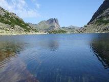 Mountain lake. Mountain's lake pic Royalty Free Stock Image