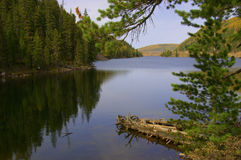 Mountain Lake Stock Foto