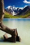 Mountain lake stock image