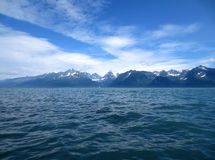 Mountain and lake Royalty Free Stock Photos