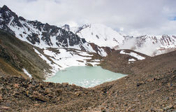 Mountain Lake almaty Stockbilder