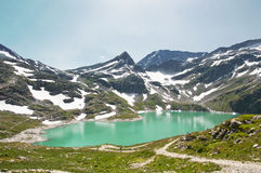 Mountain lake in Alps, Austria Royalty Free Stock Images