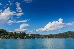 Mountain lake in the Alps Royalty Free Stock Photos