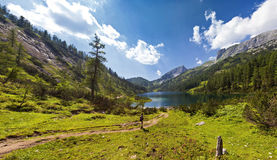 Mountain lake - Austria Stock Photography