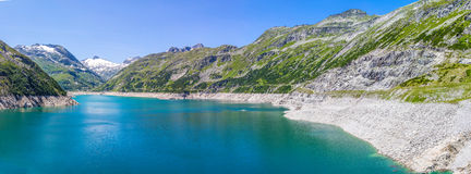 Mountain lake. In Austria Alps Stock Images