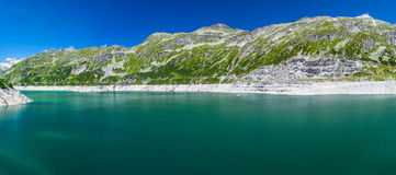 Mountain lake. In Austria Alps Royalty Free Stock Photos