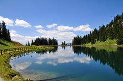 Mountain Lake in Austria Royalty Free Stock Images
