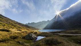 Mountain lake, Austria, Schladming at summer Royalty Free Stock Image
