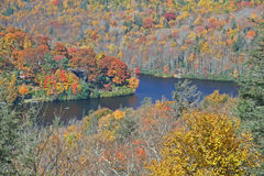 Mountain Lake in Autumn Royalty Free Stock Image