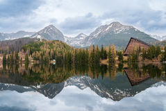 Mountain lake. Royalty Free Stock Images