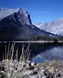 Mountain Lake British Columbia Canada Stock Images