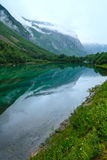 Mountain lake with clean water (Norway). Stock Image