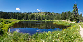 Mountain Lake in Colorado Royalty Free Stock Photo
