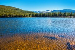 Mountain Lake in Colorado Stock Image