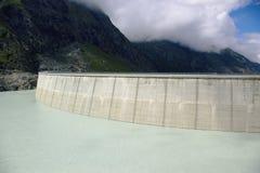 Mountain lake dam Royalty Free Stock Image