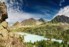 Mountain lake Darashkol Royalty Free Stock Photos