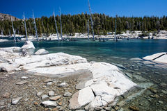 Mountain Lake in Desolation Wilderness Royalty Free Stock Photography