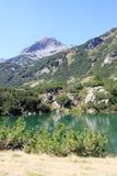 Mountain Lake. The Eye Lake (Okoto) high in the Pirin mountains, Bulgaria Stock Image