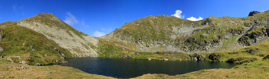 Mountain lake, Fagaras, Romania Royalty Free Stock Photography