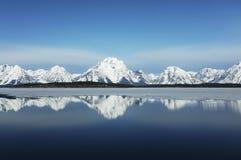 Mountain lake in Grand Teton Royalty Free Stock Photography