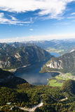 Mountain lake Hallstattersee Stock Photography